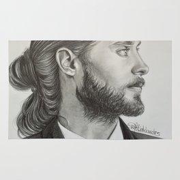 Drawing Jared Leto Rug