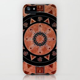 ethnic circle iPhone Case