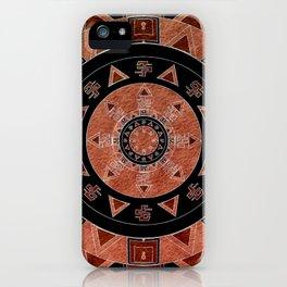 ethnic circle iPhone Case