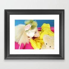 Lemonade Punch Framed Art Print