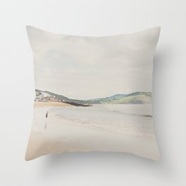 between the showers ... Throw Pillow