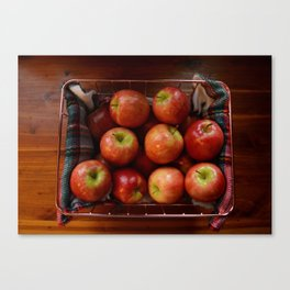 the harvest. Canvas Print