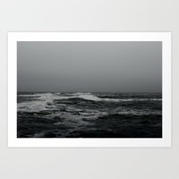 The Wintery Atlantic Art Print