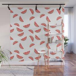 Watermelon Seamless Pattern Wall Mural