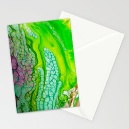 Histology of Abstract Stationery Cards