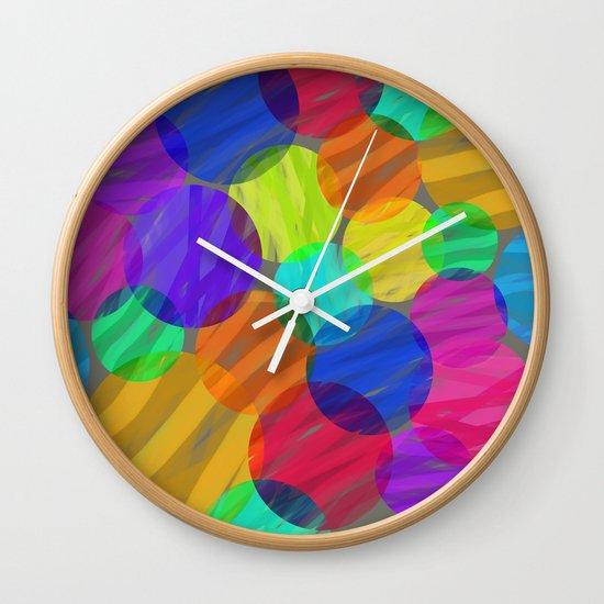 Abstract color II Wall Clock