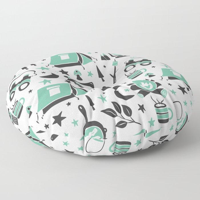 Camp Life Floor Pillow