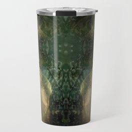 """""""The Inner Forest (caramel pattern)"""" Travel Mug"""