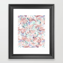 Divine Feminine Pale Coral Framed Art Print