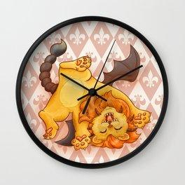 Baby Manticore Wall Clock