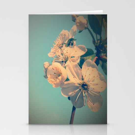 Pastel spring Stationery Cards