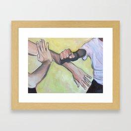 Kung Fu Framed Art Print