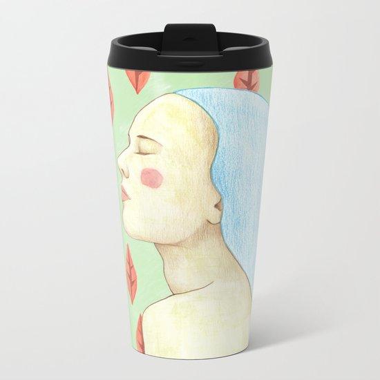 girl love portrait Metal Travel Mug