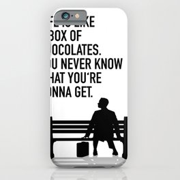 Forest Gump - movie iPhone Case