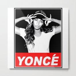 beyonce.yonce obey style Metal Print