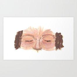 Summertime Speckles Art Print