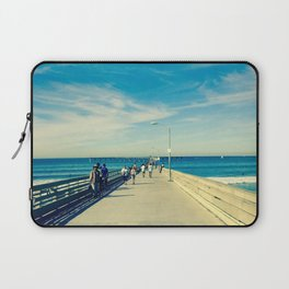 Pier Blue Laptop Sleeve