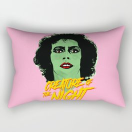 Creature of the night -The Rocky Horror Picture Show Rectangular Pillow