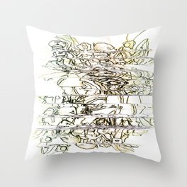 Autistic Remix #003 Throw Pillow