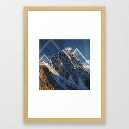 Winter Blues Framed Art Print