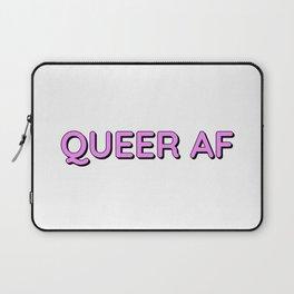 QUEER AF Laptop Sleeve