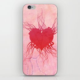 The roots of my heart iPhone Skin