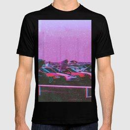 Cyberpunk 80's Parking Aesthetic T-shirt