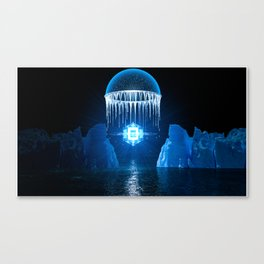 Crystal Tesseract Canvas Print