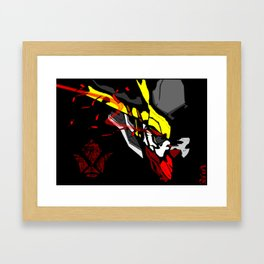 King of the Wolf ... BARBATOS LUPUS REX Framed Art Print