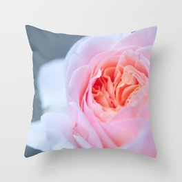Forever in Love - Pink Rose #1 #decor #art #society6 Throw Pillow