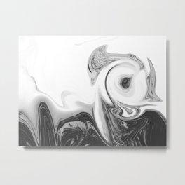 BLACK VOID Metal Print