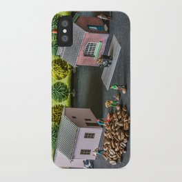 The Little Millers Coffee Corporation iPhone Case