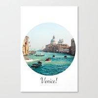 venice Canvas Prints featuring Venice! by Adrian Lungu