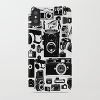 cameras iPhone & iPod Cases featuring Cameras by Ewan Arnolda