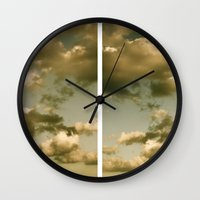rorschach Wall Clocks featuring Rorschach by GBret