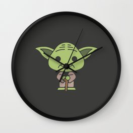 Joda Wars Wall Clock