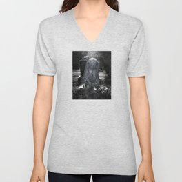 Grave Angel Unisex V-Neck