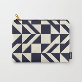 Seamless monochrome geometry pattern. Carry-All Pouch