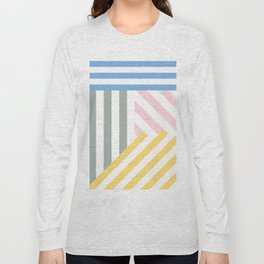 Summer stripes Long Sleeve T-shirt