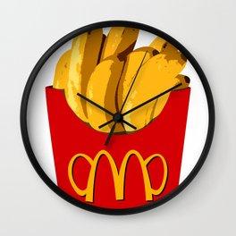 bananald's i'm lovin it! Wall Clock