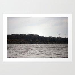 The Cliffs o Peth Art Print