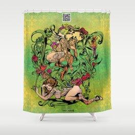 Bloom: An Awakening - Summer Abound Shower Curtain