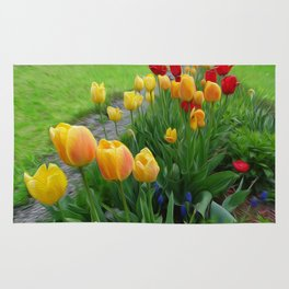 Tulipops Lollipops Rug