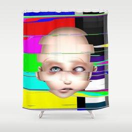 Misfit - Lucia Shower Curtain