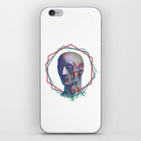 anatomy iPhone & iPod Skins featuring Anatomy by RAdesigns