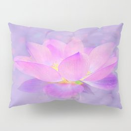 Lotus Emerging from the Water Pillow Sham