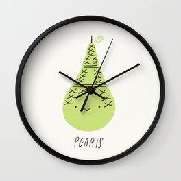 Pearis Wall Clock