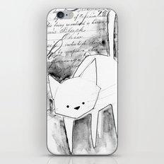 minima - deco cat iPhone & iPod Skin