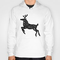 merry christmas Hoodies featuring Merry Christmas by Wis Marvin