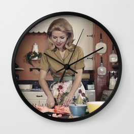 He called me crazy Wall Clock